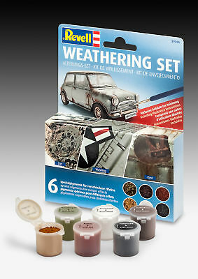 Revell (39066) - Weathering Set (6 Pigmente) - Alterungs-Set