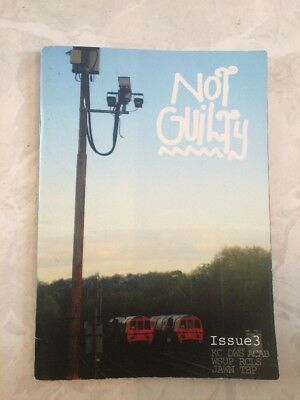 Not Guilty Uk Graffiti Magazine Issue 3 - Trains Walls Sketches Graphotism