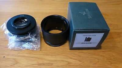 Swarovski DCA zoom for Digiscoping with complete adapter ring set, boxed, mint