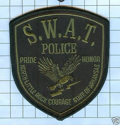 Police Patch  - Arkansas - NORTH LITTLE ROCK S.W.A.T.