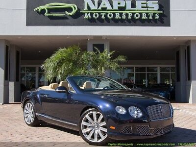 Continental GT GTC Convertible 2014 Bentley Continental GT GTC, Adaptive Cruise, W12, Two Tone Leather