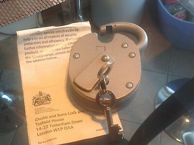 Chubb and Sons lock with Keys