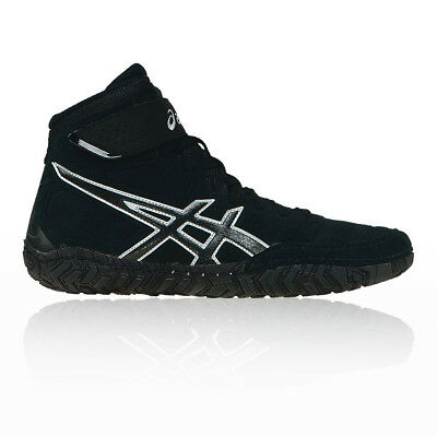 Asics Mens Aggressor 2 Wrestling Shoes Black Sports Breathable Lightweight