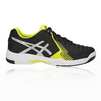 Asics Mens Gel-Game 6 Tennis Shoes Black Sports Breathable Lightweight Trainers