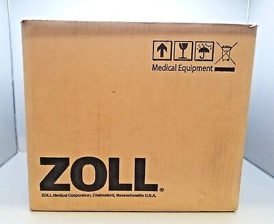 Unused Zoll Aed+Plus Defibrillator French Language W/ Carry Case