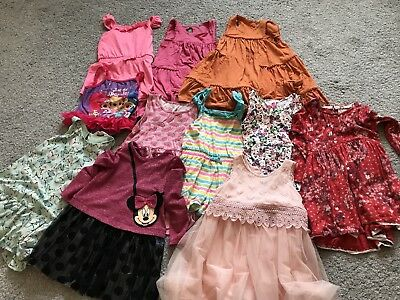 Girls 3-4 Clothes Bundle Dresses Next