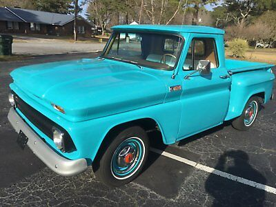1965 Chevrolet C-10 Base 1965 Chevrolet C10 Fully Restored Badd straight six with Duals