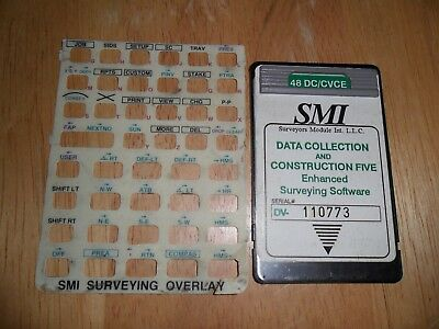 SMI Data Collection Surveying Software Card