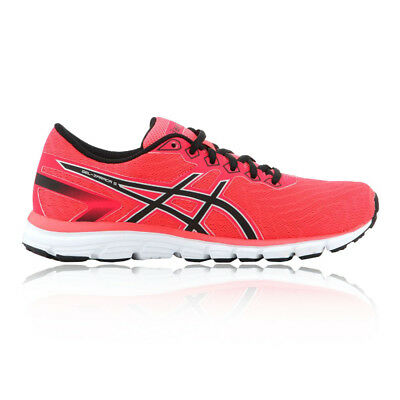 Asics Womens GEL-ZARACA 5 Running Shoe Orange Pink Reflective Trainers