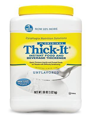Thick-It Instant Food & Bev Thickener Unflavored 36 oz ( 2 pack ) PHARMACY FRESH