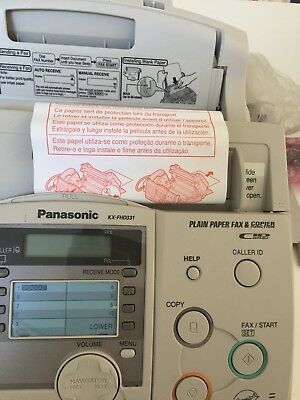 New Open Box Panasonic Kx-Fhd331 Compact Plain Paper Fax And Copier