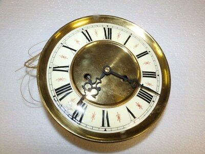 Wall Clock Movement For 2 Weights  Only For Parts Or Restauration