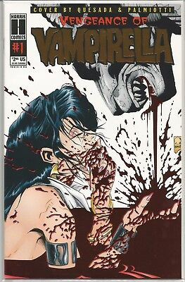 Vengeance of Vampirella #1 : Gold Variant : Limited to 500 Copies : April 1994