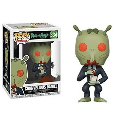 POP Anime: Rick Morty - Cornvelious Daniel with Sauce Vinyl Collectible Action