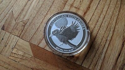 10 oz 2018 Kookaburra Silver Coin Perth Mint BU Coin 999 Silver Bullion Coin