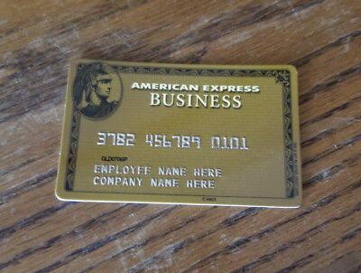 American Express Business Collectible Card