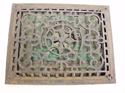 Antique Cast Iron Floor Register Heating Grate