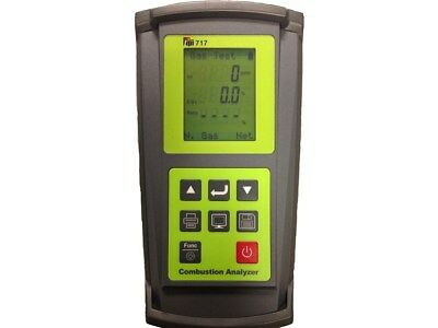TPI 717 Flue Gas Combustion Analyzer with Smart Sensors