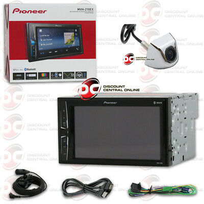 "Pioneer 6.2"" Digital Media Bluetooth Stereo Free Chrome Keyhole Backup Camera"