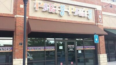 PARTY STORE INVENTORY and FIXTURES