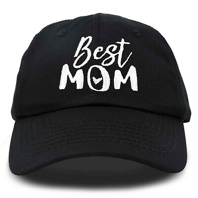 b203f89821d974 DALIX Best Mom Baseball Cap Womens Dad Hats Adjustable Mothers Day Hat Cute