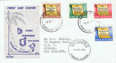 Tokelau Islands 1969 Historical Stamps Fdc