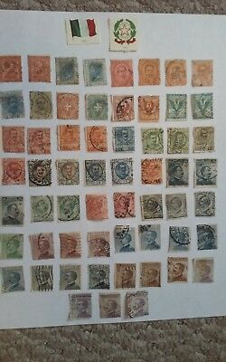 "Italy Stamps ""Lot of 446 from 1865-1980"" + Bonus  REMARKABLE!!"