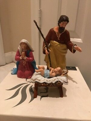 Nativity Holy Family Royal Doulton Holiday Tradition Nativity Poreclain Figurine