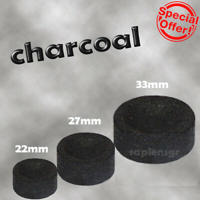 Charcoal Tablets For Hookah Resin Incense Burning - Low Smoking Quality Tabs