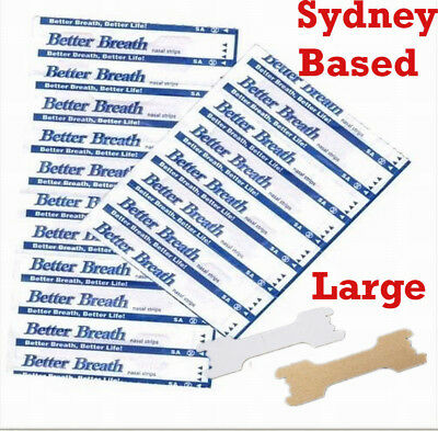 Nasal Strips Stop Snoring Breathe Better Easy Right Anti Snore Nose Strip Large