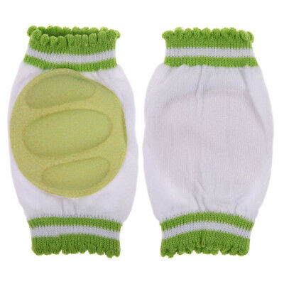 Unisex Baby Infant Toddler Crawling Knee Pads Safety Cushion Pad Protector Green