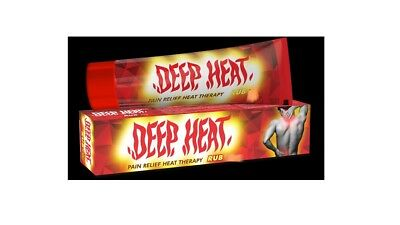 4x DEEP HEAT Rub Pain Relief Heat Therapy - 45g Ancient Therapy Ayurvedic Oils