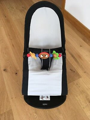 """Baby Bjorn """"babysitter"""" bouncer chair seat (includes BabyBjorn toy bar)"""