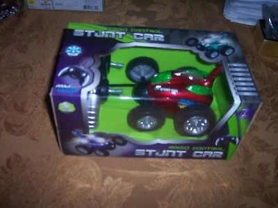 Wireless Radio Remote Control STUNT CAR SEALED & IN MINT CONDITION