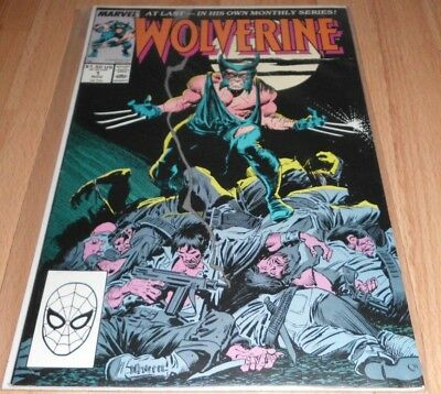 Wolverine (1988 1st Series) #1...Published Nov 1988 by Marvel