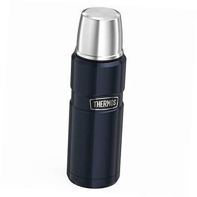 stainless king 16 ounce compact bottle, midnight blue