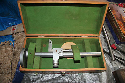 VINTAGE MICROBALL VERIER HEIGHT GAUGE IN Original Box MAY SUIT MYFORD LATHE