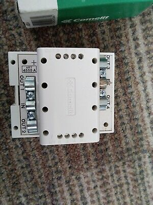 Comelit 4555/A Shunt Page 4 Modules Din 1 In 4 Out 12Vdc