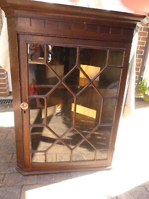 Former Corner Display Cabinet Entertainment Unit