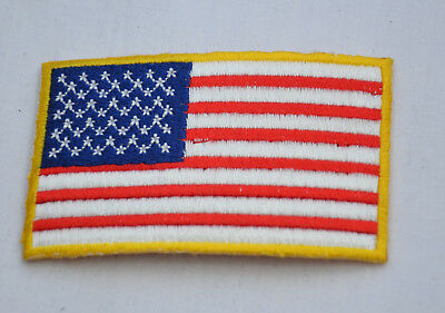 e60485194ef US FLAG MILITARY 3x2  USA Embroidered Iron Sew On Cloth Patch Badge Applique