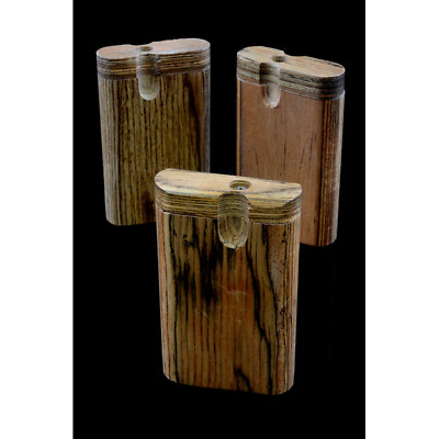 Small Natural Wood Dugout - FOR TOBACCO USE ONLY
