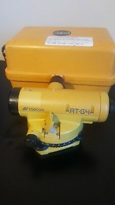 Topcon At-G4 Auto Dumpy Level Surveying Site Engineers Level Site Construction