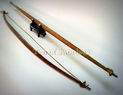 Two Amazonian Bows Arrow Throwers Spear Throwers