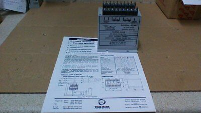 Timemark Model 2742-24 Three Phase Or (3) Separate Over/under Current Relay
