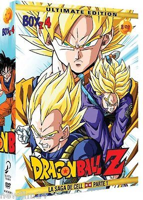 Dragon Ball Z Box 4 Dvd Saga Cell Nuevo ( Sin Abrir ) Ultimate Edition