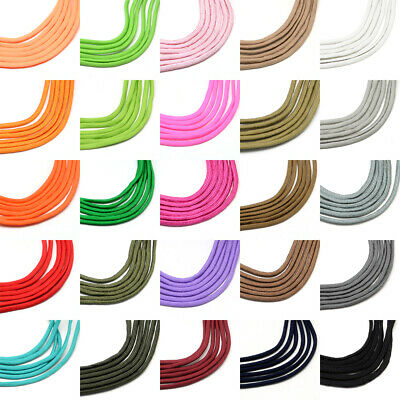 109yds Strong Polyester Spandex Cords Round Ropes Hard Duty Braided String 4~5mm