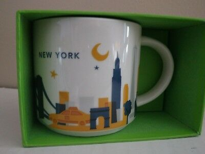 Starbucks mug you are here collectible New York  New in package