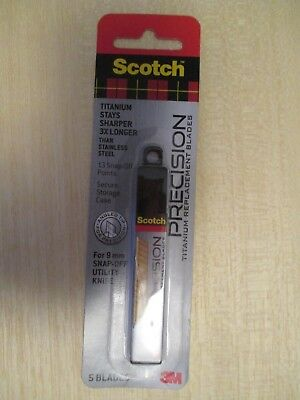 Scotch Precision Titanium Replacement Blades