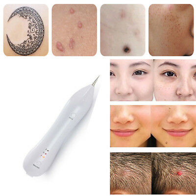 Laser Freckle Removal Machine Skin Mole Dark Spot Face Wart Tag Remover Pen NEW