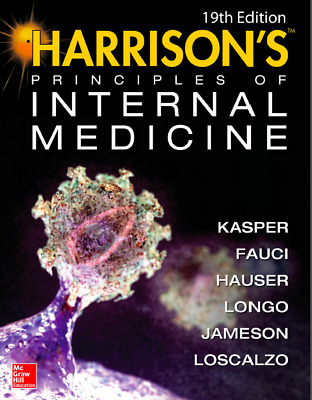 Harrison's principles of internal medicine 19th edition- Medical books